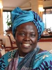 2004 Nobel Peace Laureate Wangari Maathai