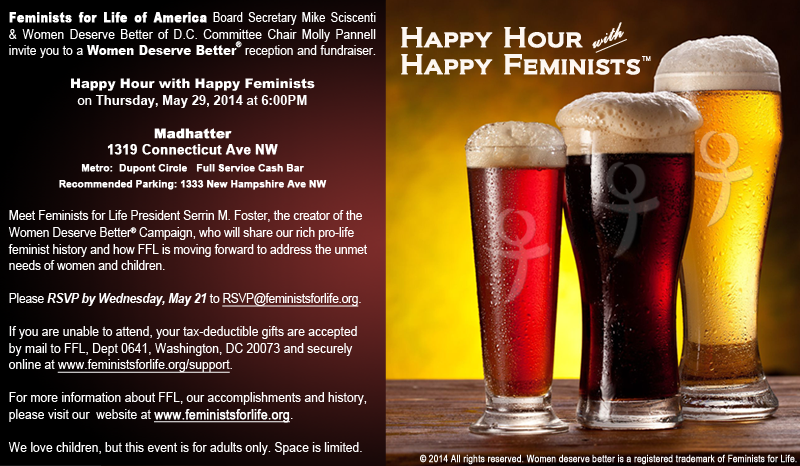 Happy Hour with Happy Feminists