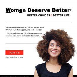 Women Deserve Better
