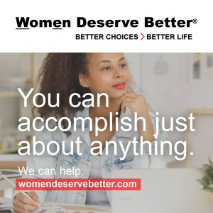 Announcing our new Women Deserve Better kit!