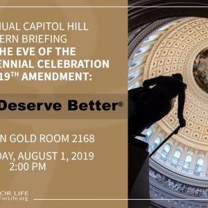 Pro-life? Pro-choice? Interns gather on Capitol Hill...