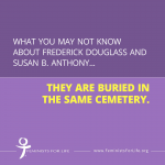 Did you know this about Douglass and Anthony?