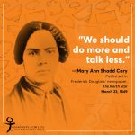 Herstory- Mary Ann Shadd Cary